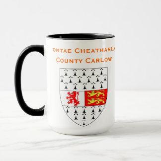 County Carlow Ireland Mug  /Contae Cheatharlac