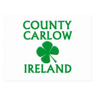 County Carlow, Ireland Postcard