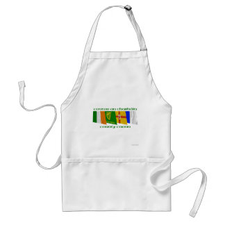 County Cavan Flags Adult Apron