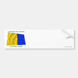 County Clare Colours Bumper Sticker