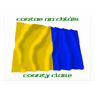 County Clare Colours Postcard