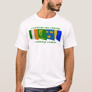 County Clare Flags T-Shirt