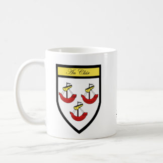 County Clare Map & Crest Mugs