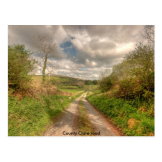 County Clare Road Postcard