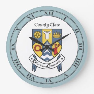 County Clare Wall Clock