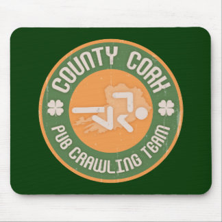 County Cork Pub Crawling Team Mouse Pad