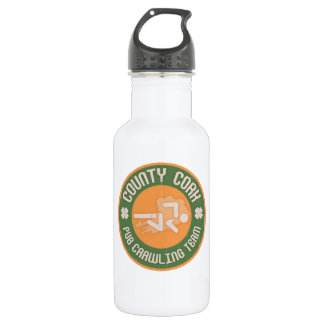 County Cork Pub Crawling Team Stainless Steel Water Bottle