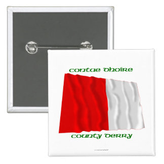County Derry Colours Pin
