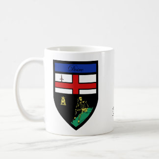 County Derry Map & Crest Mugs