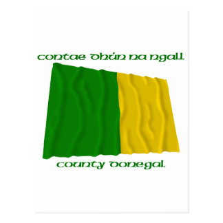 County Donegal Colours Postcard