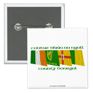 County Donegal Flags Pin
