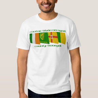 County Donegal Flags T-shirt