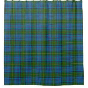 County Donegal Irish Tartan Shower Curtain