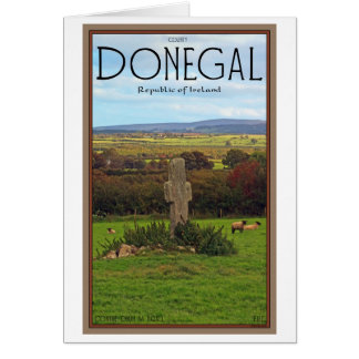 County Donegal - Stone Cross Card