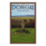 County Donegal - Stone Cross Posters