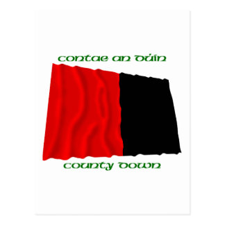 County Down Colours Postcard