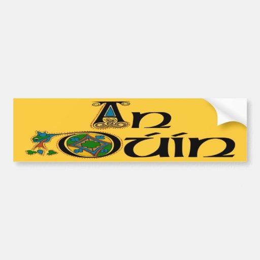 County Down (Gaelic) Bumper Sticker