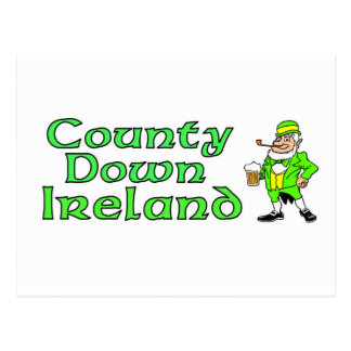 County Down, Ireland Postcard