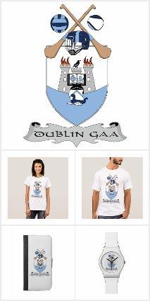 County Dublin GAA Team Colours and Shield
