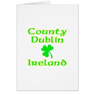County Dublin, Ireland Card