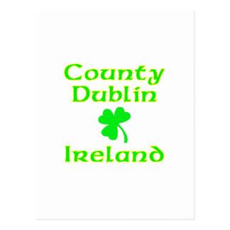 County Dublin, Ireland Postcard
