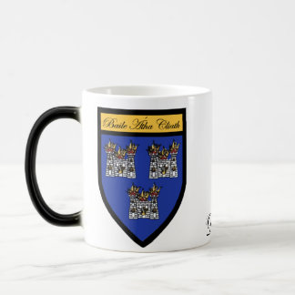 County Dublin Map & Crest Mugs