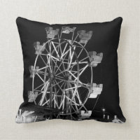 County Fair Fun Throw Pillow