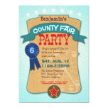 County Fair Party Invitation