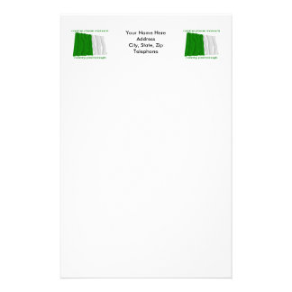 County Fermanagh Colours Personalized Stationery