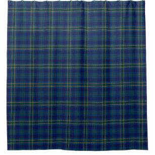 County Fermanagh Irish Tartan Shower Curtain