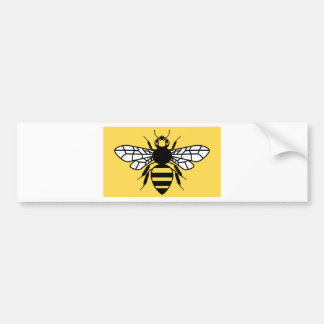 County Flag of Greater Manchester Car Bumper Sticker