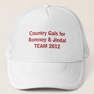 County Gals for Romney & Jindal 2012 Hat