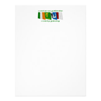 County Galway Flags Letterhead
