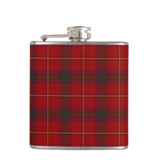 County Galway Irish Tartan Hip Flask