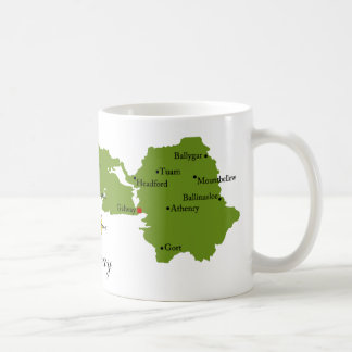 County Galway Map & Crest Mugs