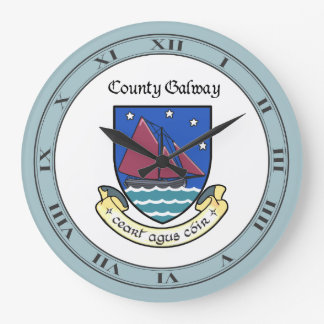 County Galway Wall Clock