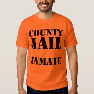 County Jail Inmate Tshirts