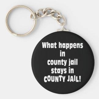 County Jail Keychain