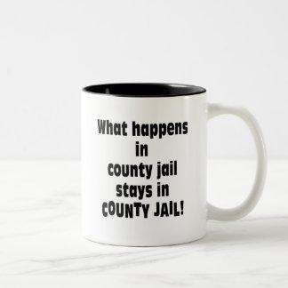 County Jail Mug