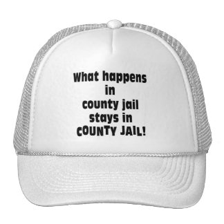 County Jail Trucker Hat