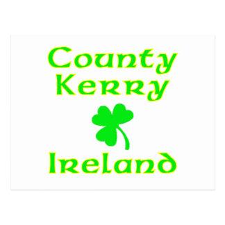 County Kerry, Ireland Postcard