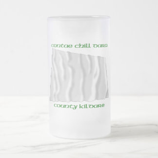 County Kildare Colours 16 Oz Frosted Glass Beer Mug