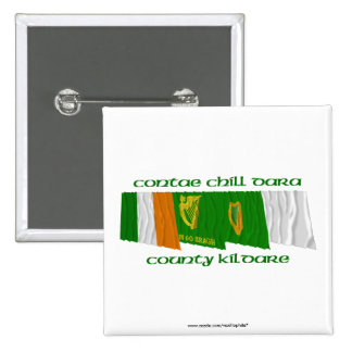 County Kildare Flags Pin