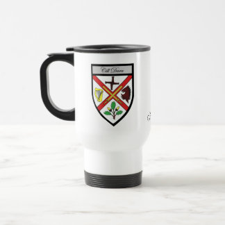 County Kildare Map & Crest Mugs