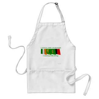 County Kilkenny Flags Adult Apron