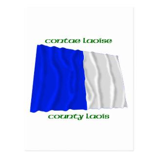 County Laois Colours Postcard
