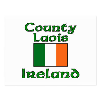 County Laois, Ireland Postcard