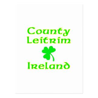 County Leitrim, Ireland Postcard