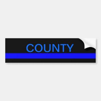 County LEO bumper stickers