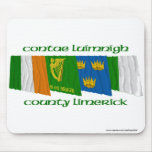 County Limerick Flags Mouse Pad